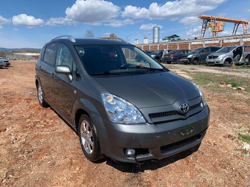 Toyota Corolla verso  2.2 D-4D 136к.с НА ЧАСТИ