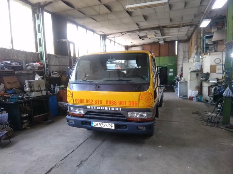 Mitsubishi Canter 3000TD Пътна помощ