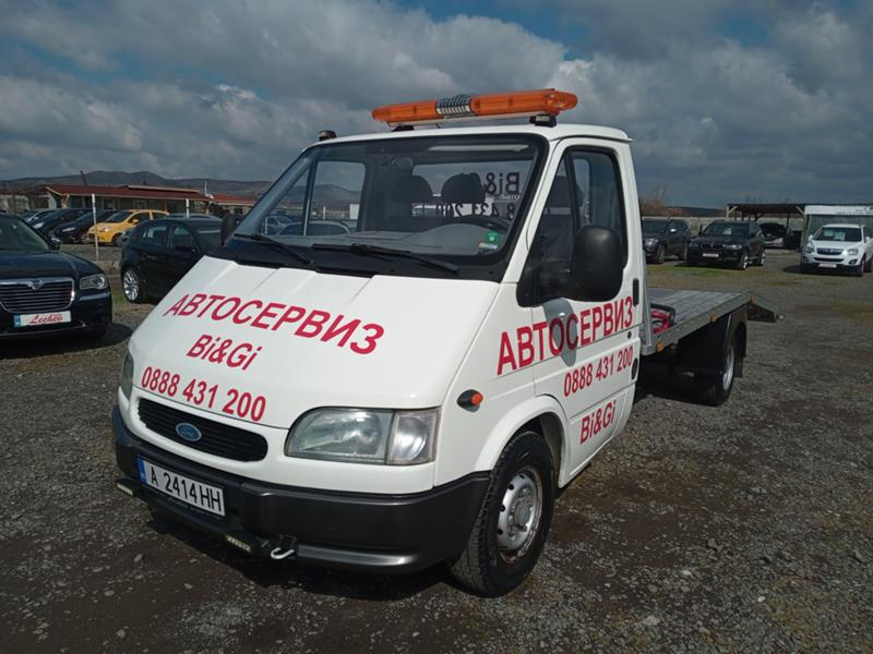 Ford Transit Special 2.5D 76 к.с. 5 скорости  Facelift