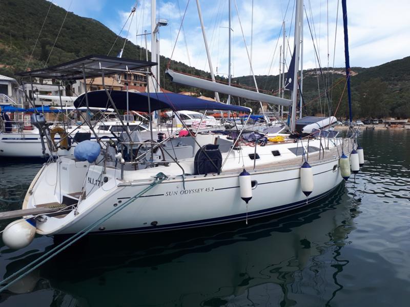 Ветроходна лодка Jeanneau  45.2   Sun Odyssey