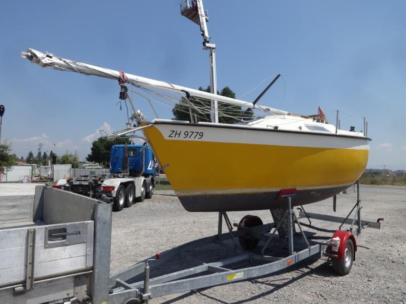 Ветроходна лодка Cramar Cranchi 599