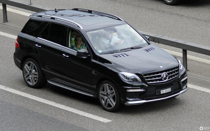 Mercedes-Benz ML 350 164,166