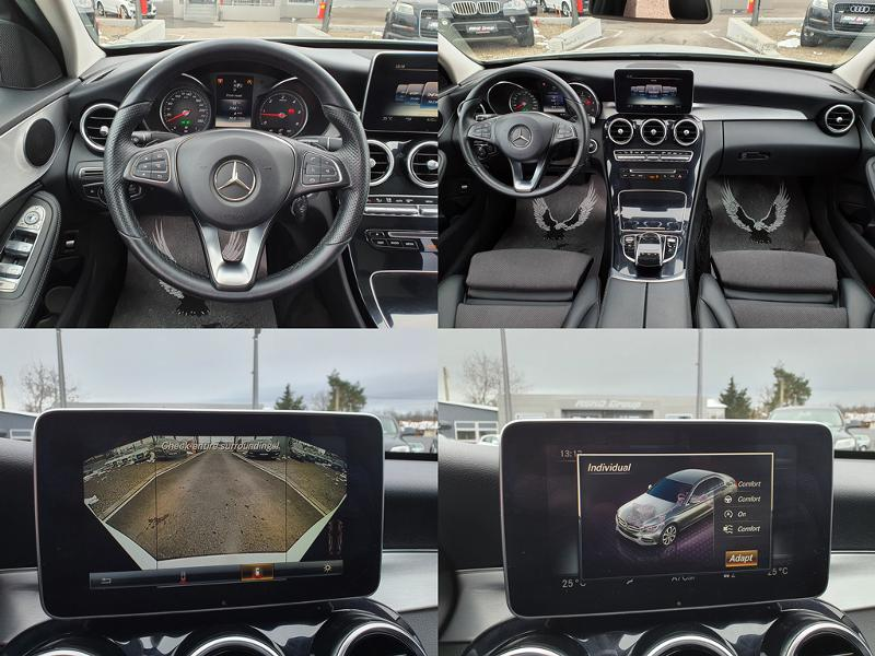 Mercedes-Benz C 250 ! AMG*4MATIC*GERMANY*PANORAMA*180KAMERA*F1*NOVA*LI, снимка 13