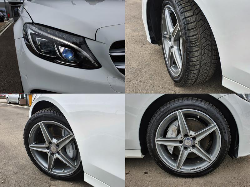 Mercedes-Benz C 250 ! AMG*4MATIC*GERMANY*PANORAMA*180KAMERA*F1*NOVA*LI, снимка 15