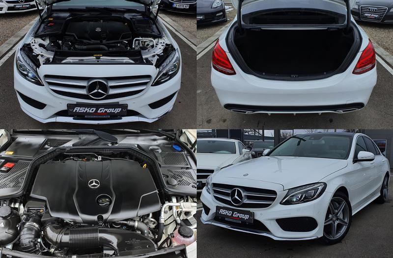 Mercedes-Benz C 250 ! AMG*4MATIC*GERMANY*PANORAMA*180KAMERA*F1*NOVA*LI, снимка 16