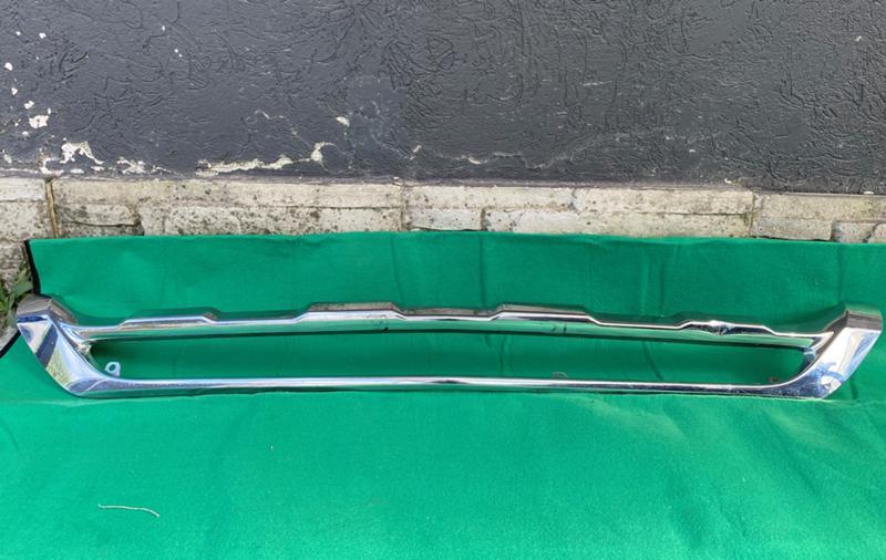 MERCEDES BENZ GLK X204 Fаcelift 2013-2015 Хром предна броня